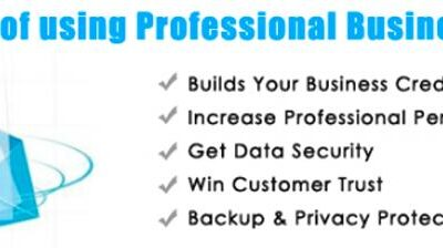 Benefits of a business email address and why you need it?